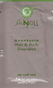 SANOLL just4you: Aventurin Hair & Body Shampoo(Sachet)
