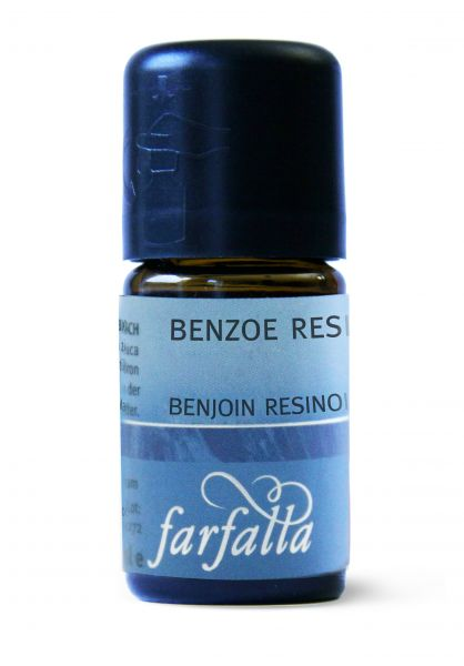 FARFALLA Benzoe Resinoid 50% bio Wildsammlung, 5ml