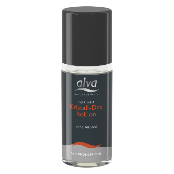 alva FOR HIM Kristall-Deo-Roll On, 50ml