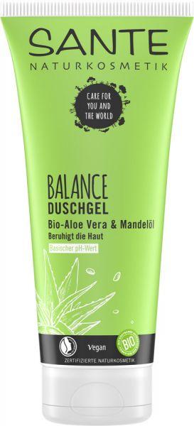SANTE BALANCE Duschgel Bio-Aloe & Mandelöl, 200ml