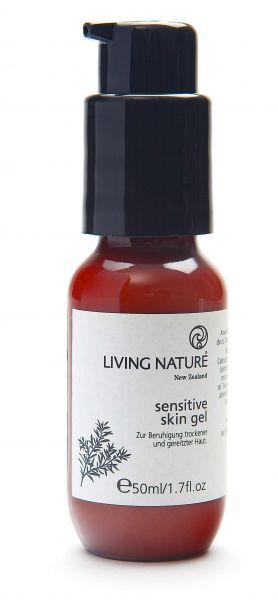 Living Nature SENSITIVE SKIN GEL: in PET Flasche, 50ml
