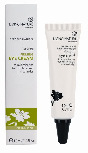 Living Nature FIRMING EYE CREAM: Straffende Augencreme, 10ml