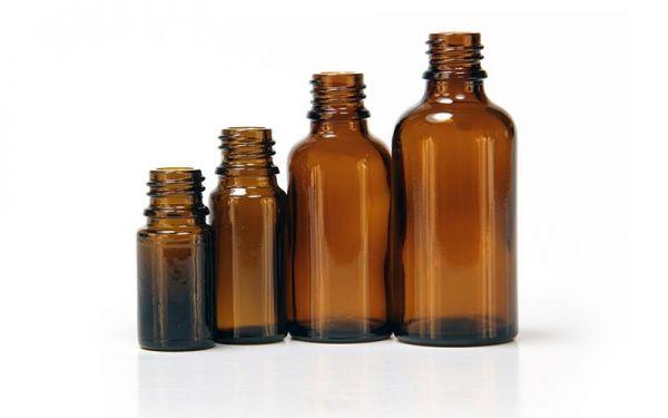 FARFALLA Leerflaschen (6 Stk.) Braunglas 30ml (ohne Verschluss)