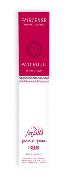 FARFALLA Patchouli / Dream of Asia, Faircense Räucherstäbchen