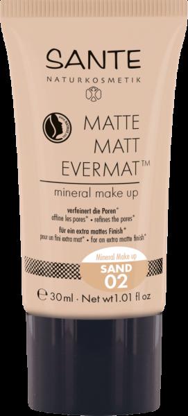 SANTE Matte Matt Evermat™ Mineral Make-up 02 sand