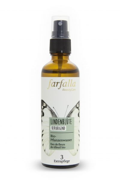 Farfalla, Lindenblüte Bio-Pflanzenwasser, 75ml