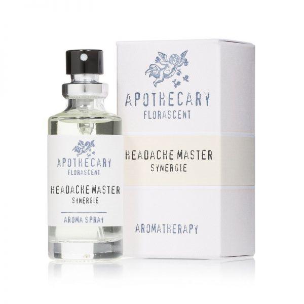 Florascent Headache Master - Aromatherapy Spray, 15ml