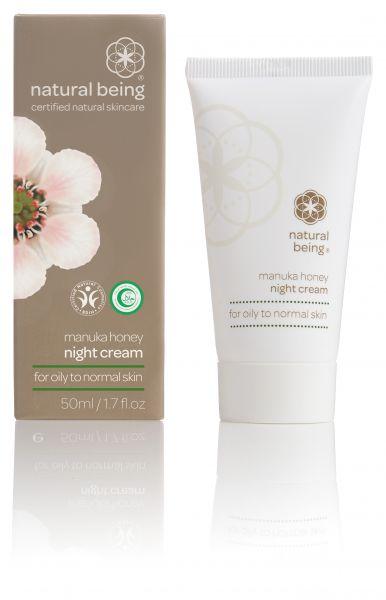 Living Nature NATURAL BEING Manukahoney Night Cream, 50ml