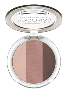 LOGONA Eyeshadow Trio no. 03, rosewood