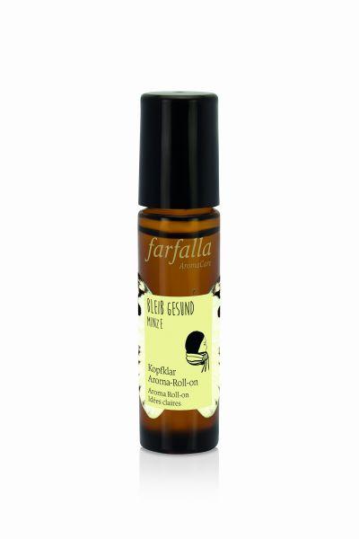 Farfalla bleib gesund, Kopfklar Aroma-Roll-on, 10ml