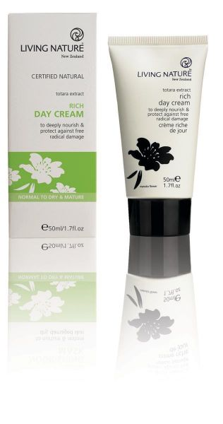 Kabinett Living Nature RICH DAY CREAM Reichhaltige Tagescreme, 125ml