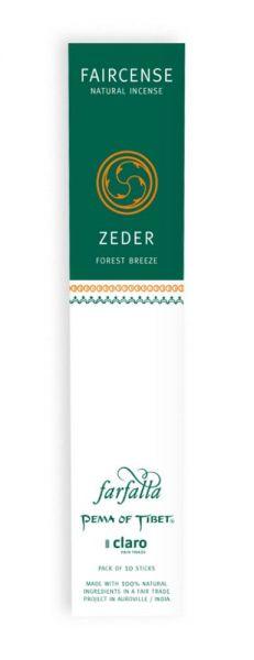 FARFALLA Zeder / Forest Breeze, Faircense Räucherstäbchen