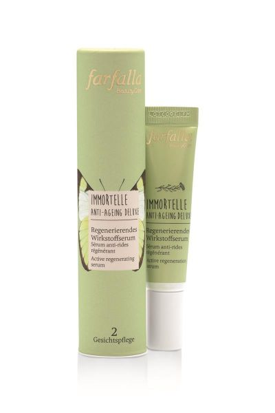 Farfalla Immortelle Anti Ageing Deluxe, Regenerierendes Wirkstoffserum, 15ml