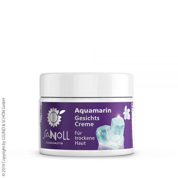 SANOLL Aquamarin Gesichtscreme, für trockene Haut 50ml