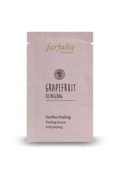 Farfalla Sanftes Peeling, Tray/Spender10x 7ml