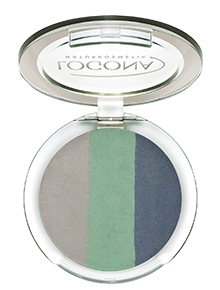 LOGONA Eyeshadow Trio no. 04, ocean