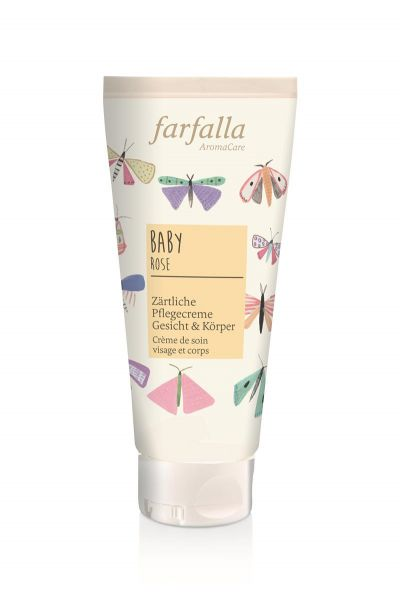 Farfalla Baby Pflegecreme für Gesicht & Körper, 100ml NEU!