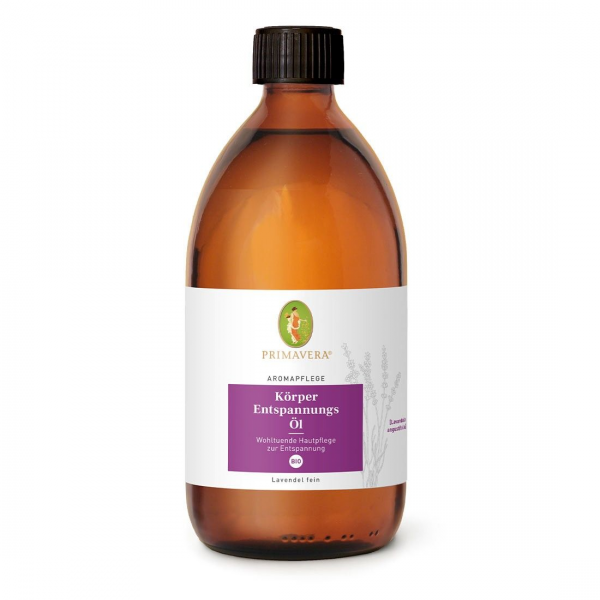 PRIMAVERA Aromapflege Körper Entspannungs Öl, 500ml