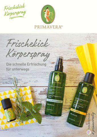 PRIMAVERA DIY Rezeptkarte Frischekick