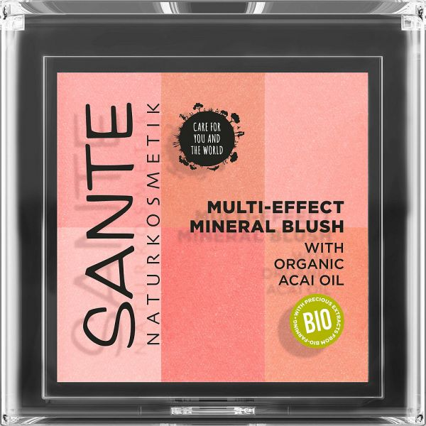 SANTE Multi Effect Mineral Blush 01 coral