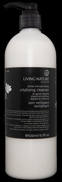 Kabinett Living Nature VITALISING CLEANSER :Vitalisierende Reinigungsmilch, 500ml