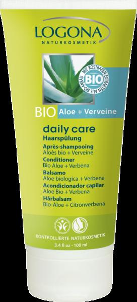 LOGONA Haarspülung Bio-Aloe + Verveine, 100ml