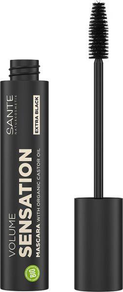 SANTE Volume Sensation Mascara 01 Black, 12ml