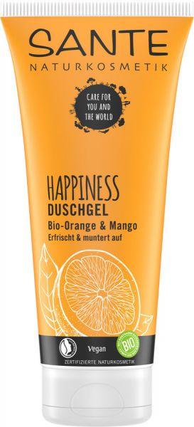 SANTE HAPPINESS Duschgel Bio-Orange & Mango, 200ml