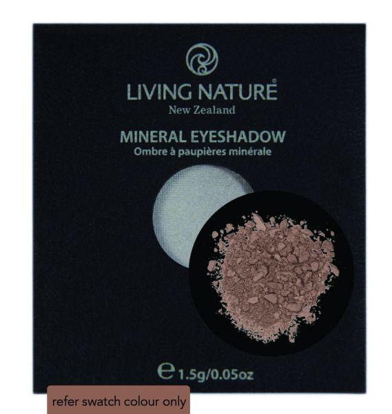Living Nature EYE SHADOW TUSSOK braun/matt , 1,5g