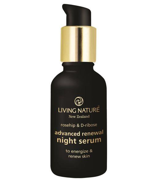 Living Nature Advanced Renewal Nigth Serum, 30ml