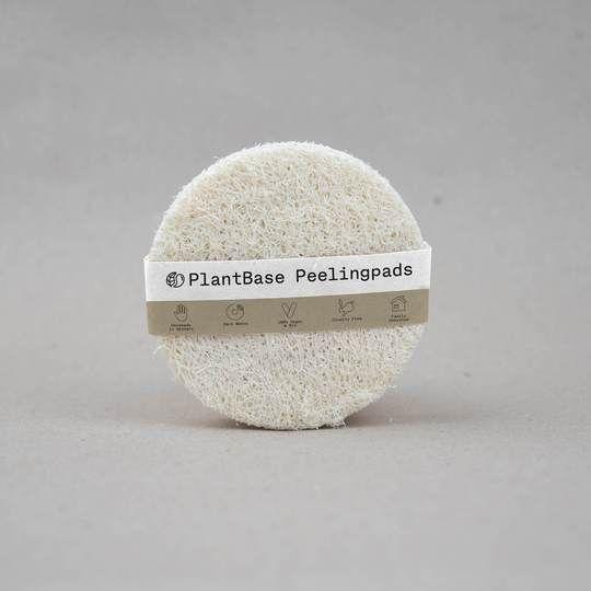 PlantBase Peeling Pads aus Luffa (5-er Pack)