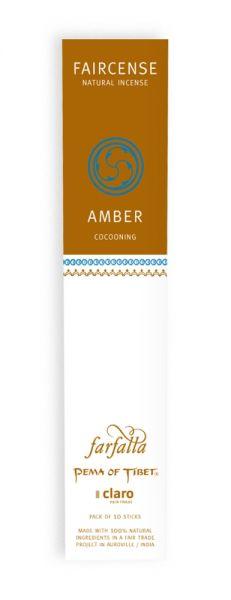 FARFALLA Amber / Cocooning, Faircense Räucherstäbchen
