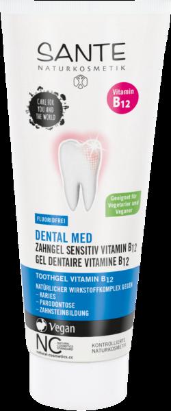 SANTE Zahngel Vitamin B12 ohne Fluorid, 75ml