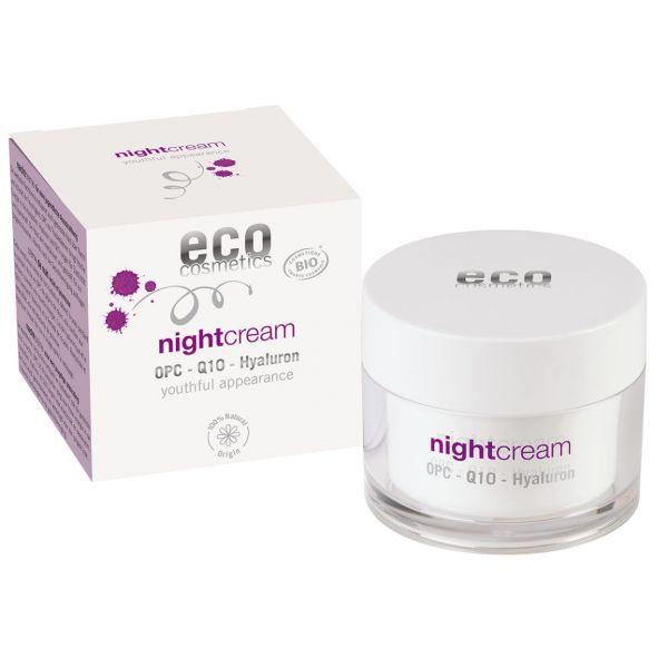 ECO Nachtcreme, mit OPC, Q10 und Hyaluron, 60ml