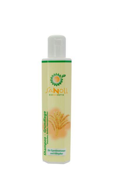 SANOLL Shampoo - Grundlage, 200ml