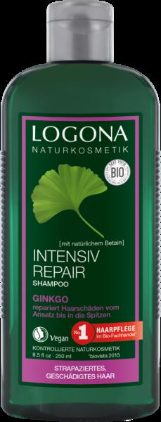 LOGONA Intensiv Repair Shampoo Ginko, 250ml