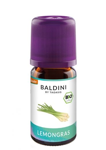 Baldini Bio-Aroma Lemongrasöl BIO/demeter 5 ml