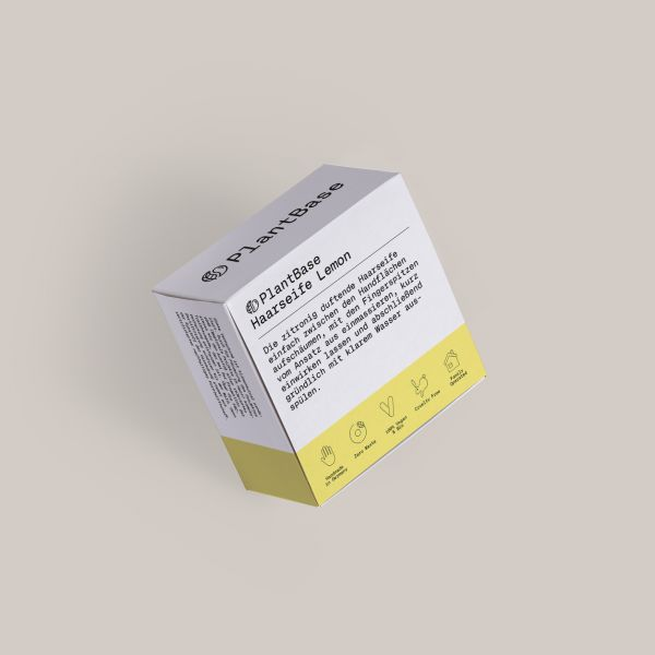 PlantBase ShampooSeife Lemon, 100g