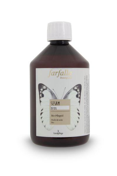 Farfalla Sesam Bio-Pflegeöl, 500ml