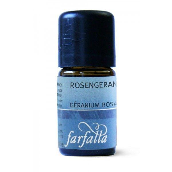 FARFALLA Rosengeranie Bourbon bio, 5ml