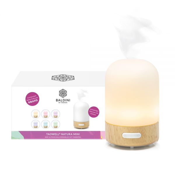 Baldini by Taoasis Aroma-Vernebler TaoWell NATURA Mini weiss, incl. Duftmischung!