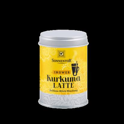 SONNENTOR Kurkuma-Latte-Ingwer bio würzig, 60g Dose