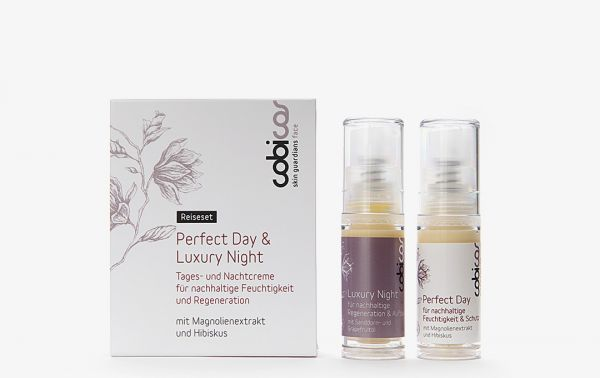 Cobicos Reise-/Probierset je 5 ml PERFECT Day & LUXURY Nightcream, 2x5ml