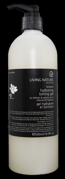 Kabinett Living Nature HYDRATING TONING GEL: Feuchtigkeits- und Toninggel, 500ml