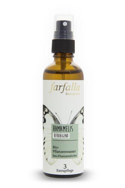 Farfalla Hamamelis Bio-Pflanzenwasser, 75ml
