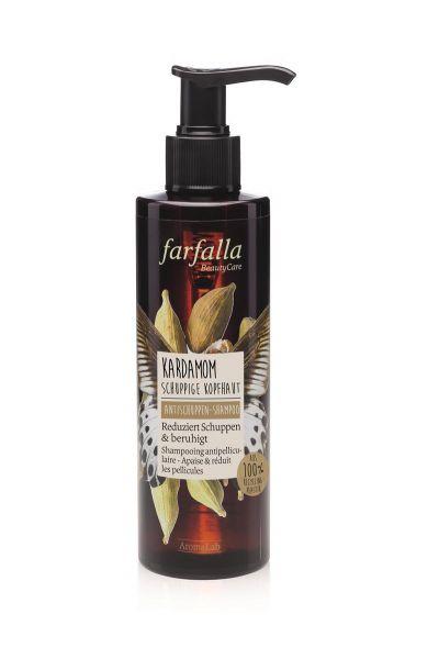 FARFALLA Kardamom Anti-Schuppen Shampoo, 200ml NEU!