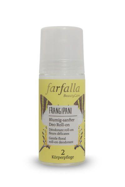 Farfalla, Frangipani: Blumig sanfter Deo Roll-on, 50ml