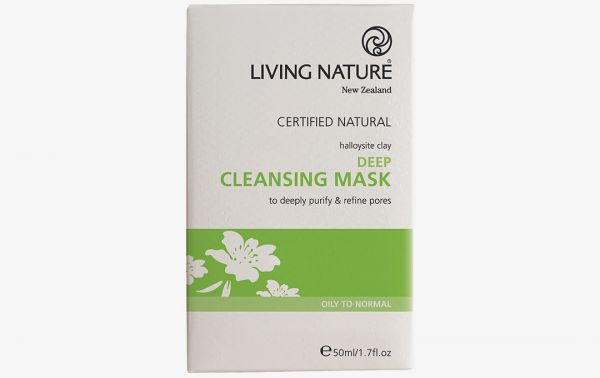 Living Nature DEEP CLEANSING MASK : Tief wirkende Reinigungsmaske, 50ml