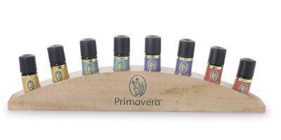 PRIMAVERA Holzaufsteller Äth. Öle/Duftmischungen