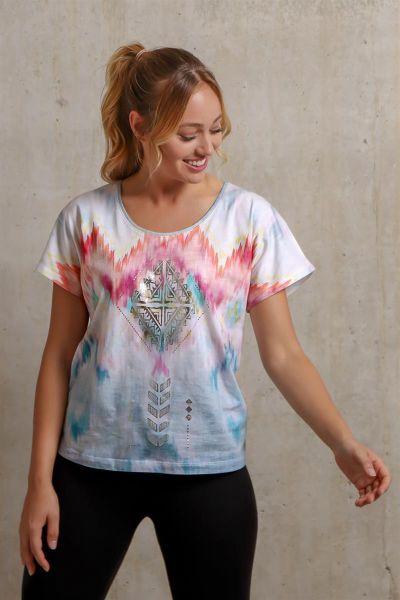 """Spirit of OM Shirt """"Ikat"""", Gr. S-XL"""